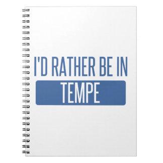 Caderno Espiral Tempe