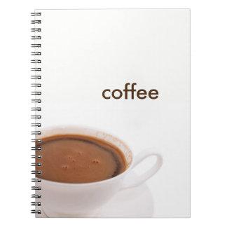 Caderno Espiral tempo do café