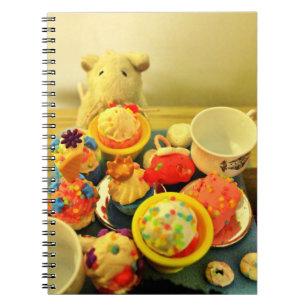 Caderno Espiral Tempo do chá