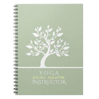 Caderno Espiral Terapia elegante elegante da massagem do estúdio