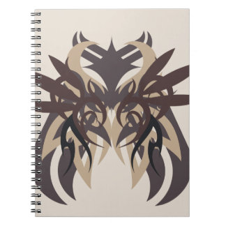 Caderno Espiral Terra da abstracção quatro
