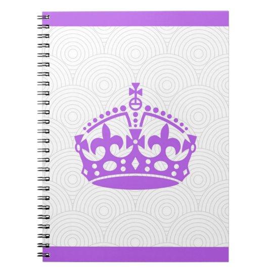 Caderno Espiral The Crown Notebook!