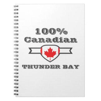Caderno Espiral Thunder Bay 100%