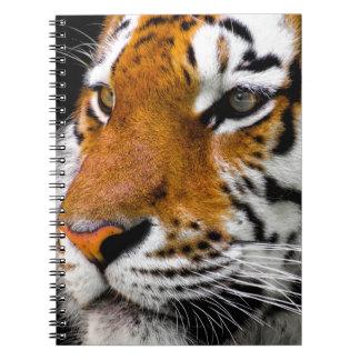 Caderno Espiral Tigre