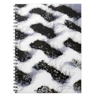 Caderno Espiral tijolos inclinados