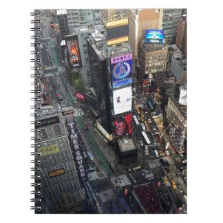 Caderno Espiral Times Square de NYC