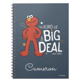 Caderno Espiral Tipo de Elmo | I'm de uma grande coisa