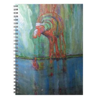 Caderno Espiral Torneira oxidado