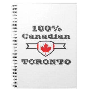 Caderno Espiral Toronto 100%