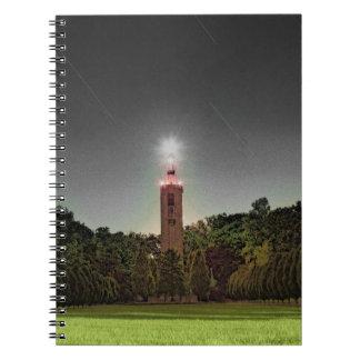 Caderno Espiral Torre do cemitério