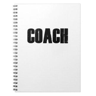 Caderno Espiral Treinador - esporte dos treinadores das mulheres