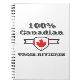 Caderno Espiral Trois-Rivières 100%
