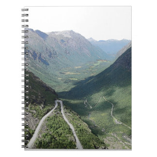 Caderno Espiral Trollstigen