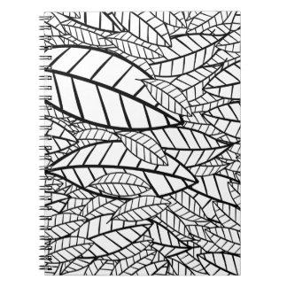 Caderno Espiral tropical grande