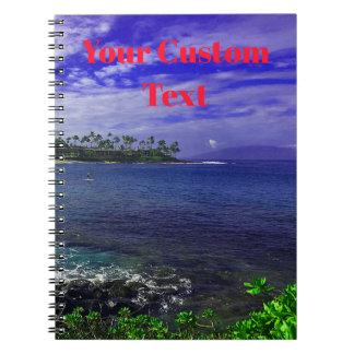 Caderno Espiral Trópicos de Havaí