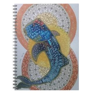 Caderno Espiral Tubarão de baleia