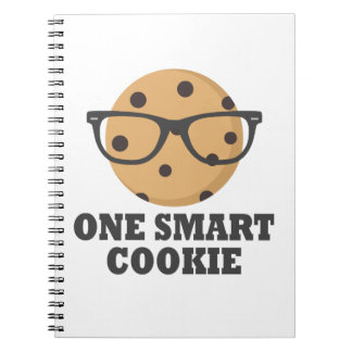 Caderno Espiral Um biscoito esperto