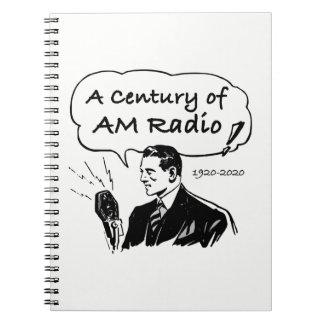 Caderno Espiral Um século do rádio do AM