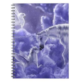 Caderno Espiral Unicórnio