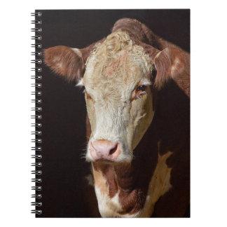 Caderno Espiral Vaca mal-humorada