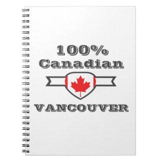 Caderno Espiral Vancôver 100%
