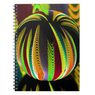 Caderno Espiral Variação ColoursI na bola