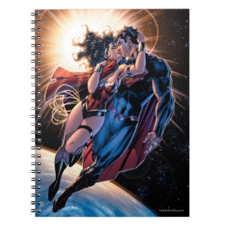 Caderno Espiral Variação cómica do cobrir #12 da liga de justiça