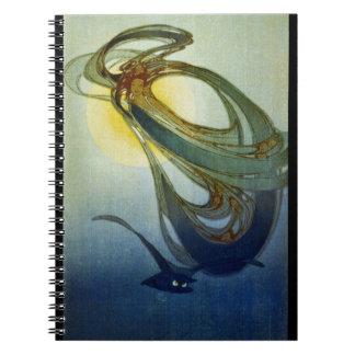 Caderno Espiral Vento ocidental 1920 da mãe