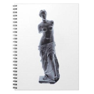 Caderno Espiral Vênus de Milo