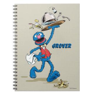 Caderno Espiral Vintage Grover o garçom