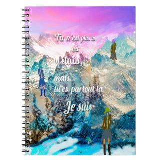 Caderno Espiral Você é em toda parte mim está