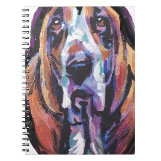 Caderno Espiral Você é meu coração de Basset Hound