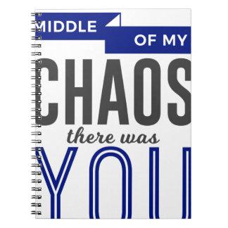 Caderno Espiral Você no caos