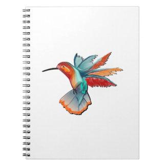 Caderno Espiral Vôo da elegância