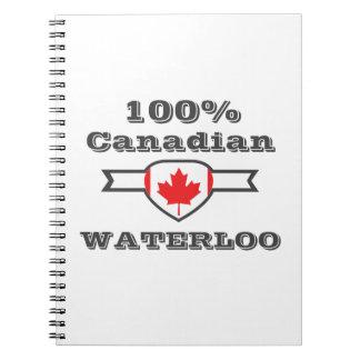 Caderno Espiral Waterloo 100%