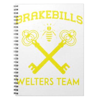 Caderno Espiral Welters
