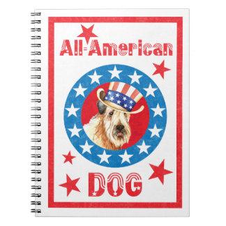 Caderno Espiral Wheaten patriótico