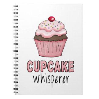 Caderno Espiral Whisperer do cupcake