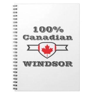 Caderno Espiral Windsor 100%