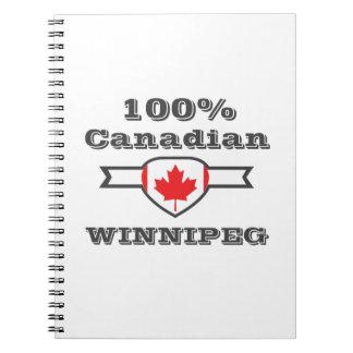 Caderno Espiral Winnipeg 100%