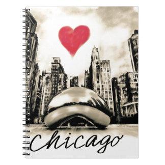 Caderno Eu amo Chicago