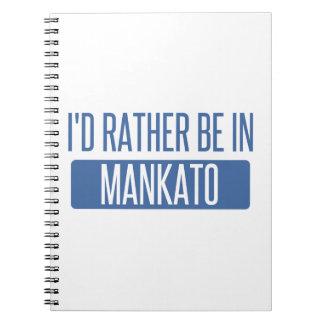 Caderno Eu preferencialmente estaria em Mankato