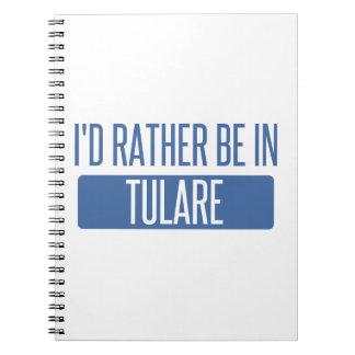 Caderno Eu preferencialmente estaria em Tulare