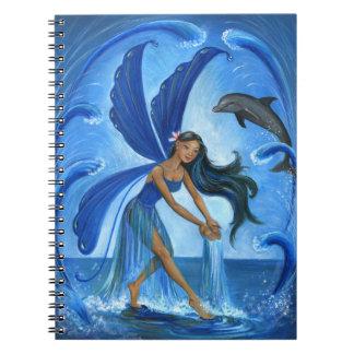 Caderno Fada da água