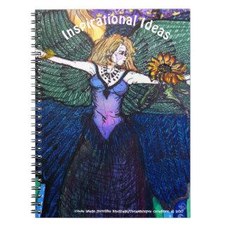 Caderno feericamente do anjo do destino
