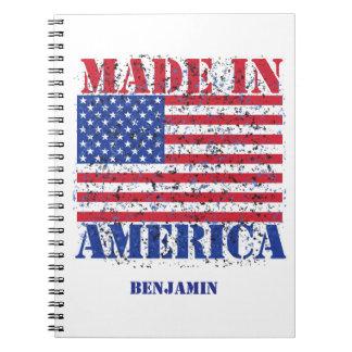 Caderno Feito em América