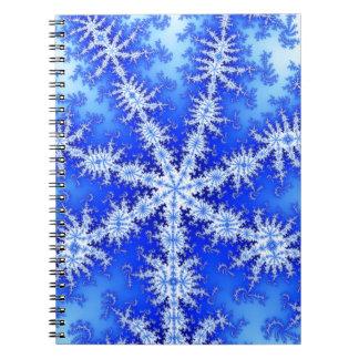 Caderno Floco da neve