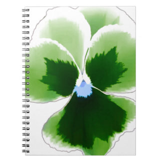 Caderno Flor verde 201711d do amor perfeito