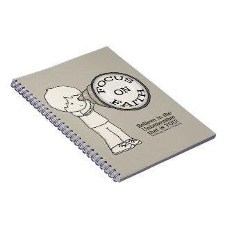 Caderno Foco na fé