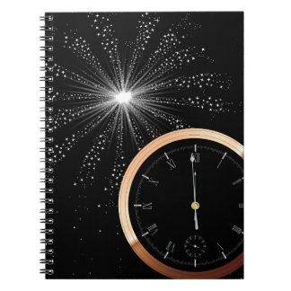 Caderno Fogo-de-artifício do ano novo